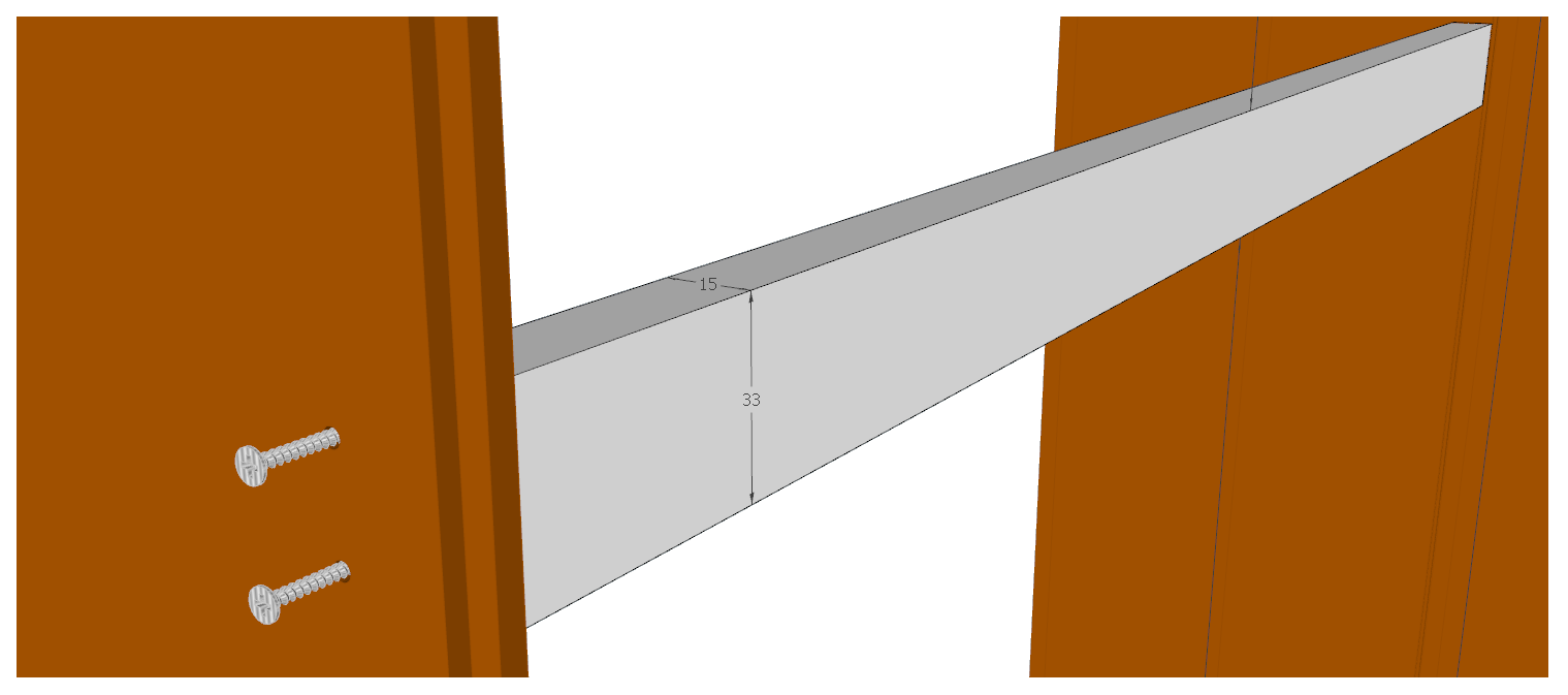 backwall panel holders design