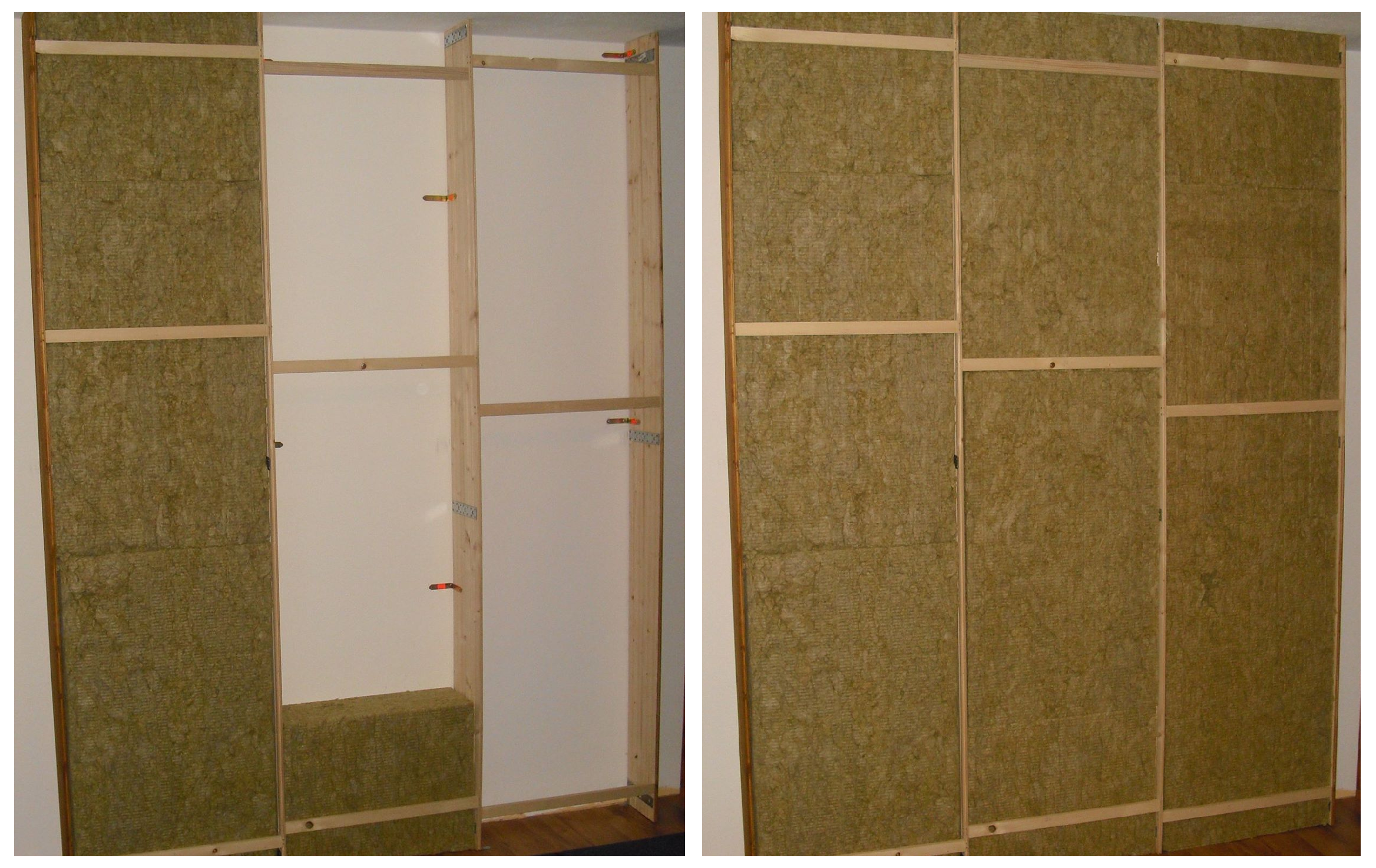 backwall panel insulation