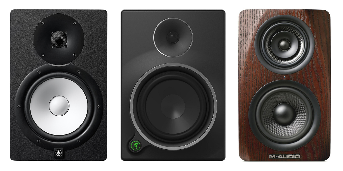 Home studio monitors - speakers